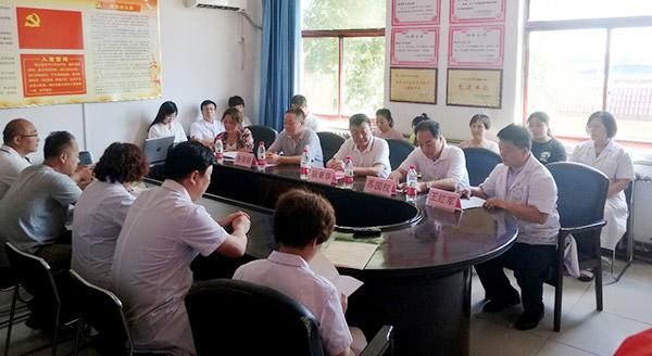 河北中医肝病医院联体成员单位——正定县新安中心卫生院揭牌仪式现场